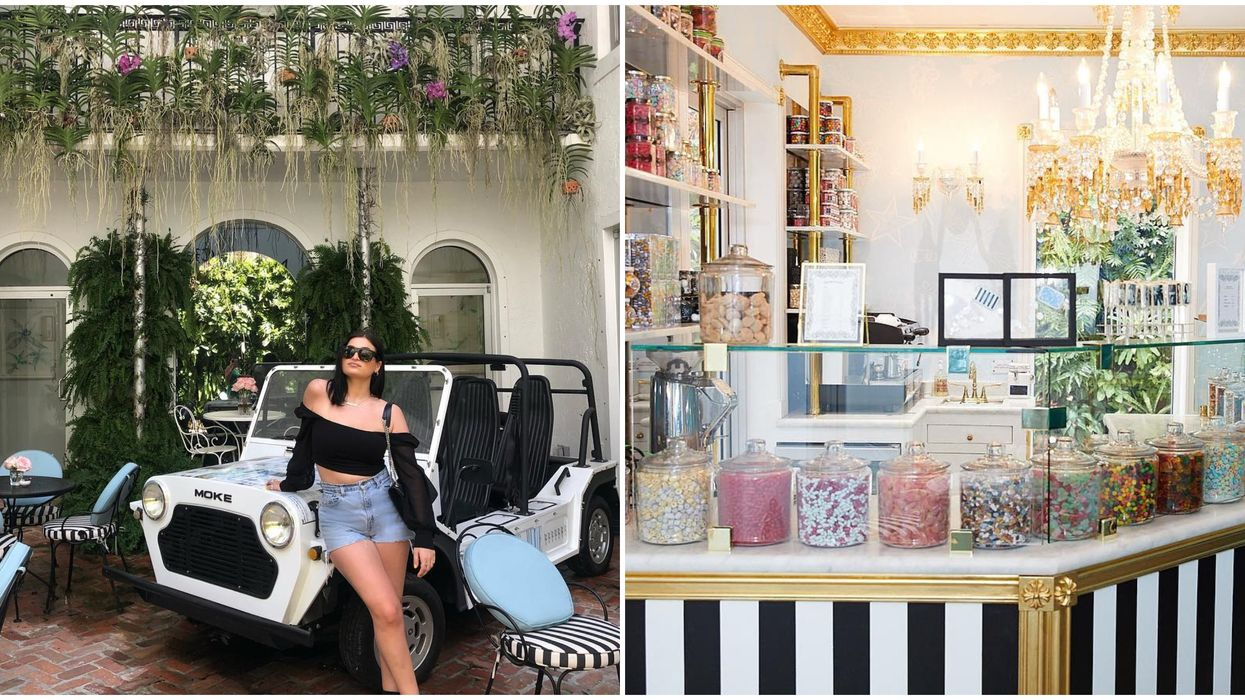This Instagrammable Hidden Alley In Miami Leads You To The Most Eclectic Sweet Shop Around