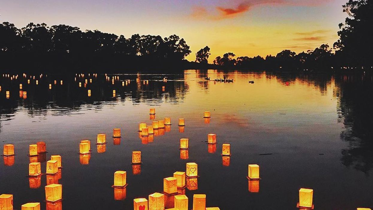 A Breathtaking Water Lantern Festival Is Coming To Vancouver This Summer
