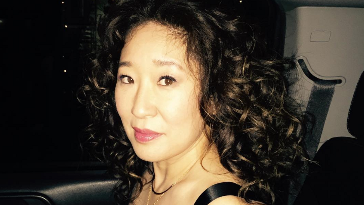 Sandra Oh Celebrated Winning A Huge Award With Her BFF In Ottawa In The Cutest Way