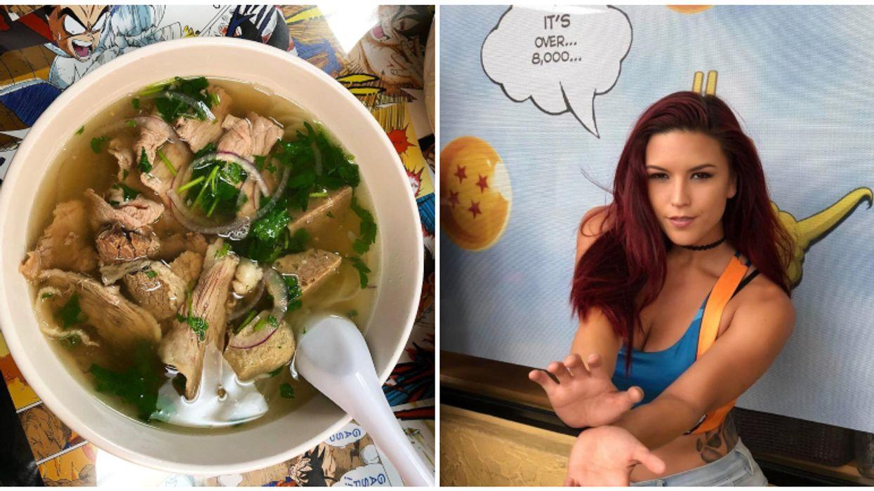This Dragon Ball Z Themed Noodle Shop In Orlando Lets You Build Your Own 'Soupa Saiyan' Ramen