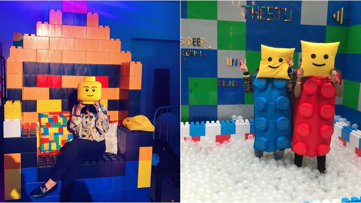 An Epic Lego-Themed Pop Up Is Coming To Vancouver This Summer