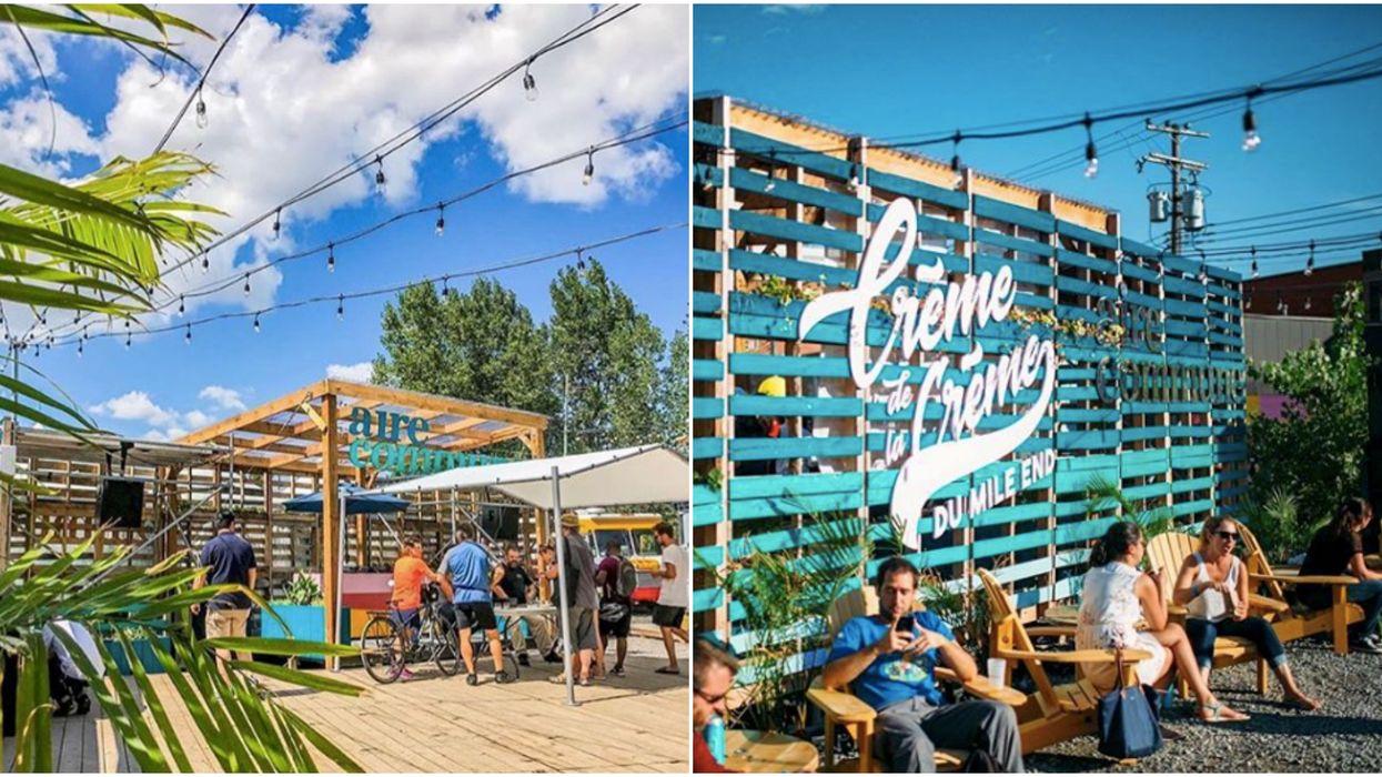 L'Aire Commune annonce sa date d'ouverture et l'arrivée de deux nouvelles terrasses à Montréal