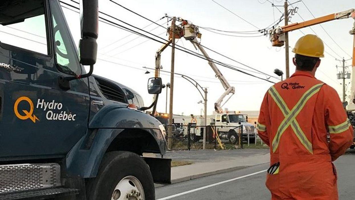 Hydro-Québec ne va pas facturer les clients qui n'ont pas d'électricité pendant les inondations