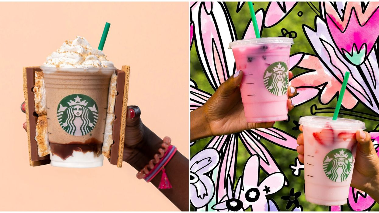 Starbucks Canada Releases New Limited Edition Drinks For Summer