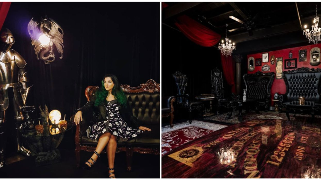 This Secret Speakeasy In Tampa Will Make You Feel Like You're In A Real Haunted Mansion