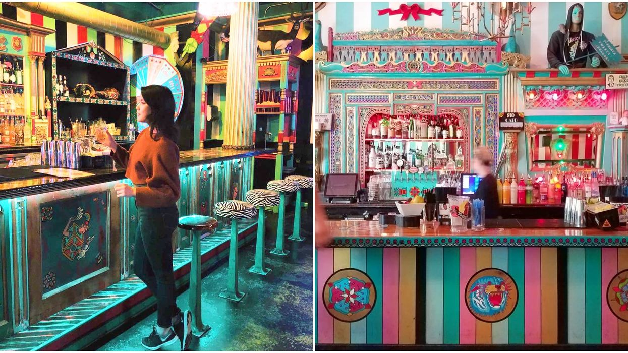 There's A Magical Carnival-Themed Bar Near Vancouver And You Have To Go There ASAP