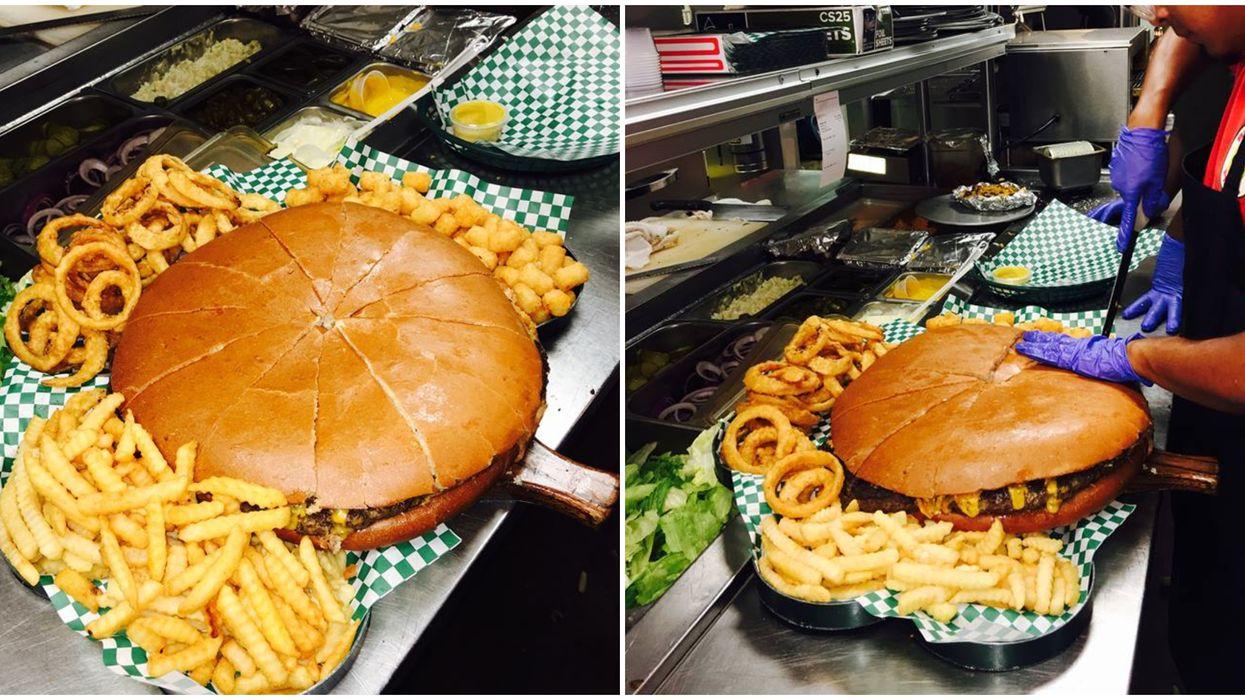 This San Antonio Restaurant Serves The Biggest Burgers In Texas