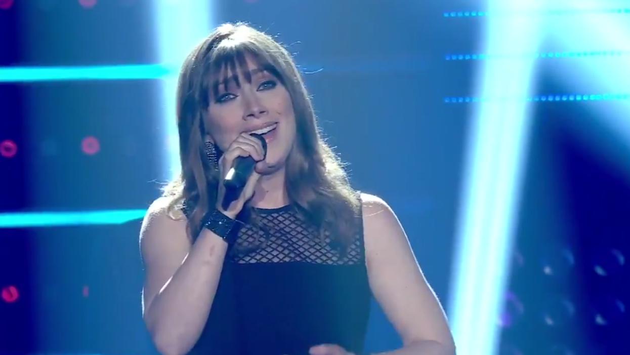 Geneviève Jodoin remporte la grande finale de La Voix 7