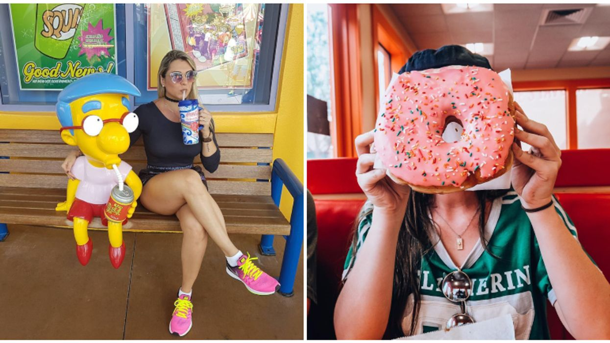 You Can Actually Visit 'Springfield' In Orlando And Get A Doughnut Bigger Than Your Face