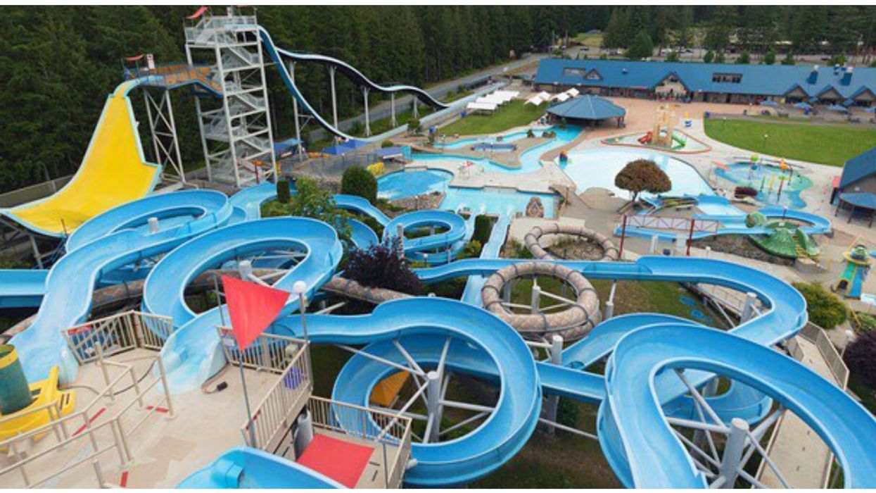 BC's Biggest Outdoor Waterpark Is Officially Opening For Summer Next Month