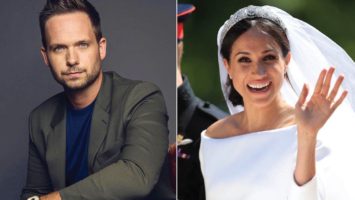 Meghan Markle's On-Screen Husband Just Said The Sweetest Thing About Her New Baby