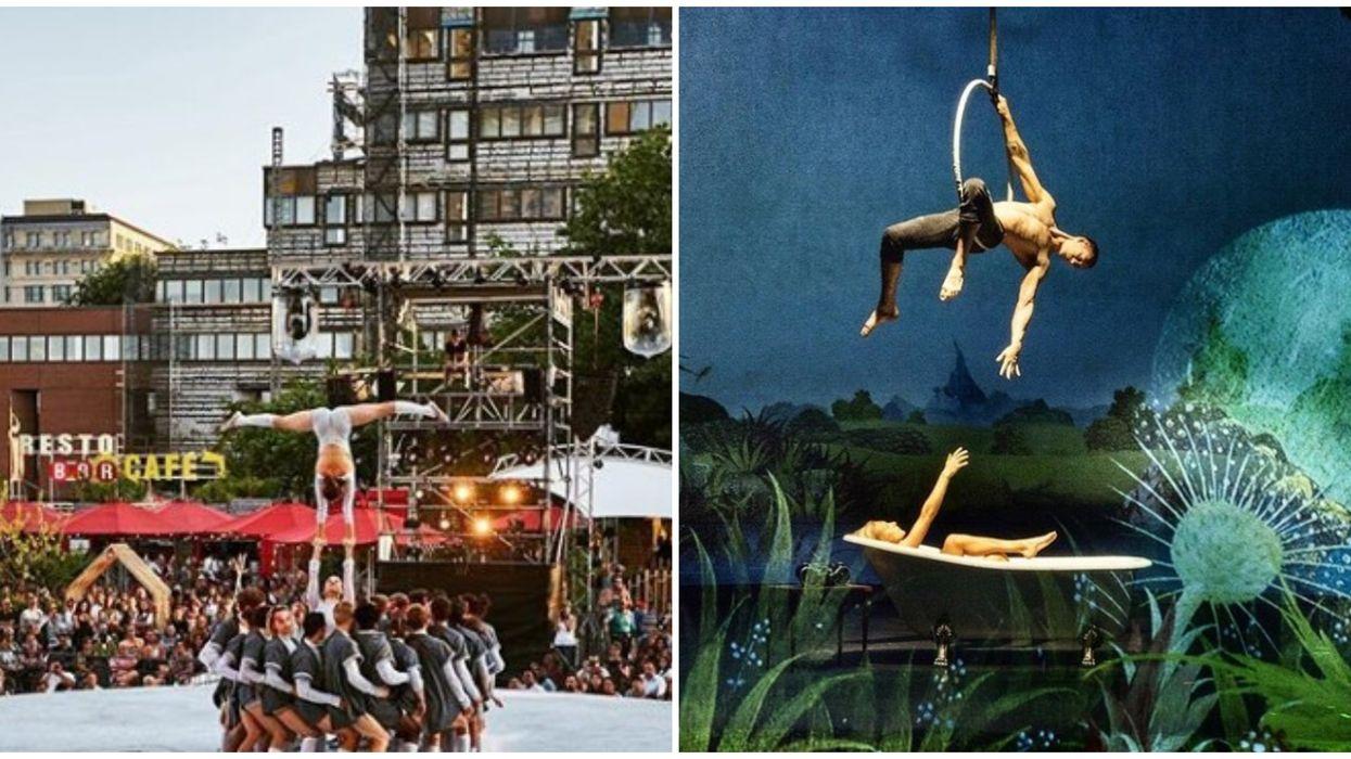 Des spectacles de cirque complètement gratuits auront lieu à Montréal cet été