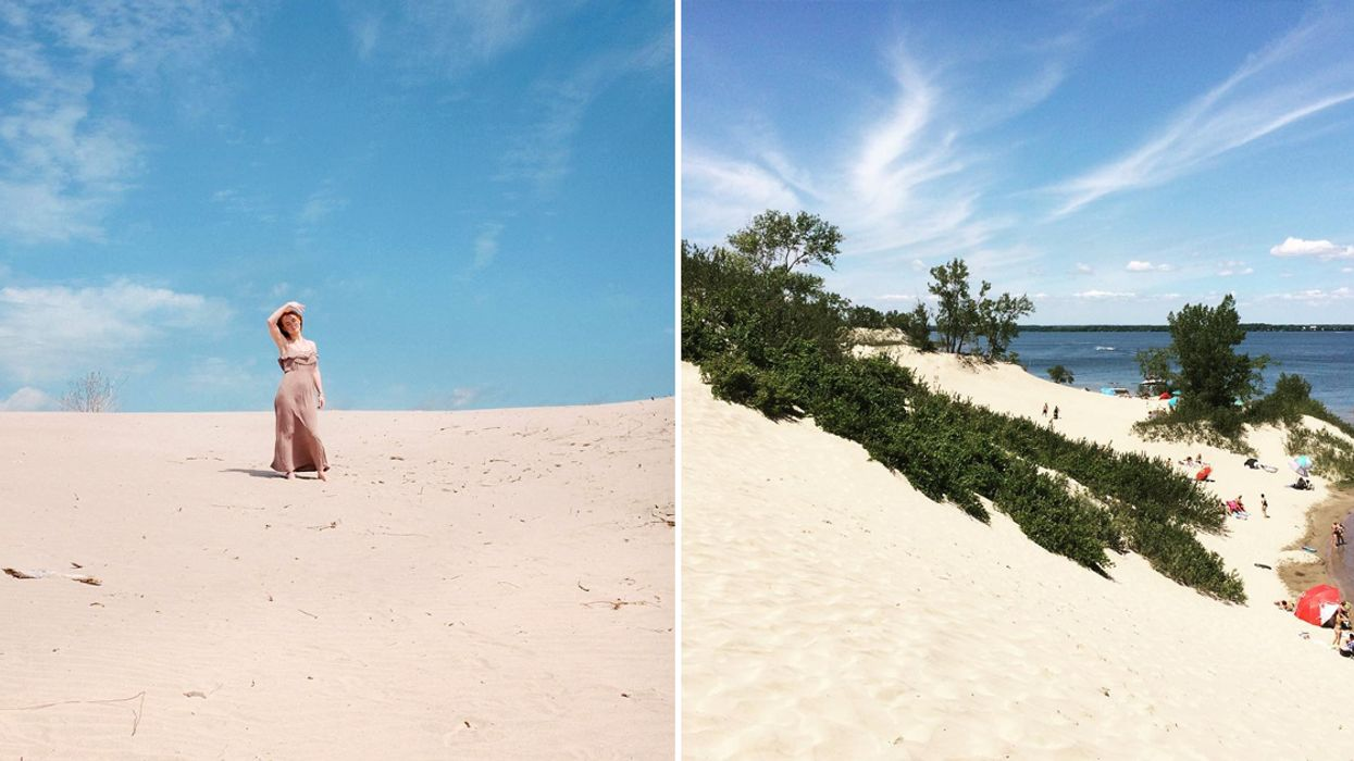 These 12 km Sand Dunes In Ontario Will Make You Feel Like You're In The Caribbean