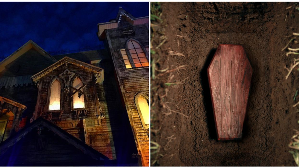 You Can Actually Get 'Buried Alive' At The Only Year Round Haunted House In Florida