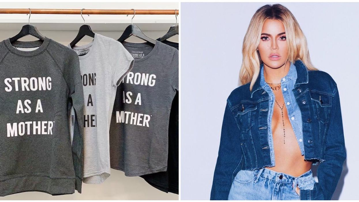A Canadian Woman Is Claiming That Khloe Kardashian Ripped Off Her Slogan From Local Clothing Company