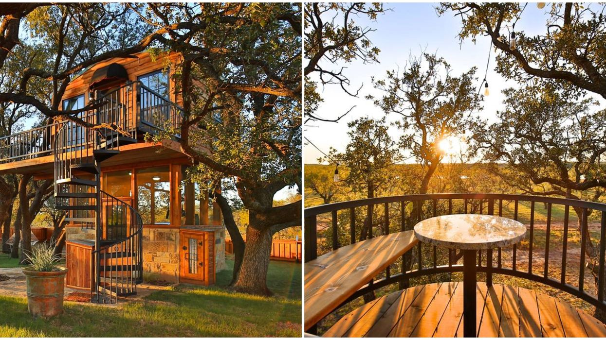 You Can Live Out Your Childhood Dreams In This Texas Treehouse Airbnb