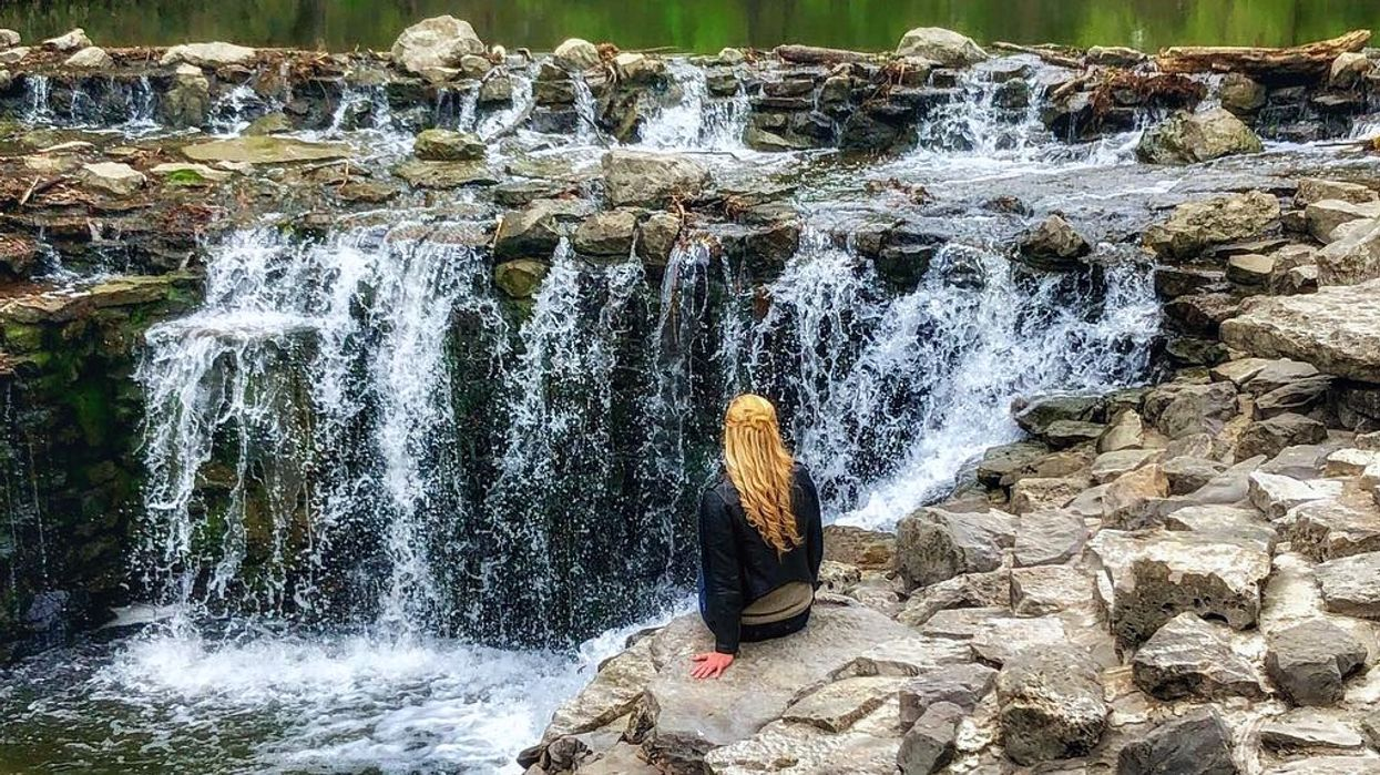 There's A Beautiful Hidden Waterfall In North Texas That You Need To See