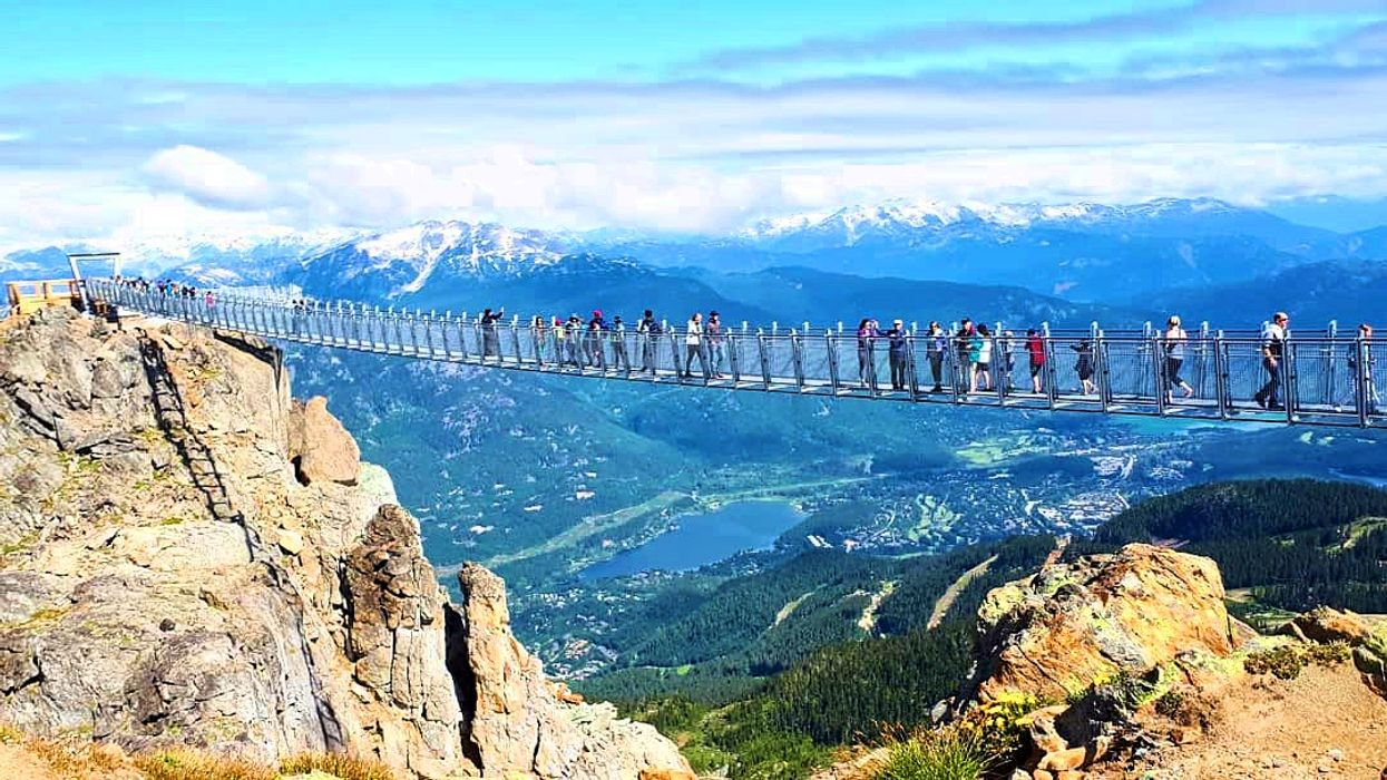 Canada's Most Insane Suspension Bridge Is Opening Soon For The Summer