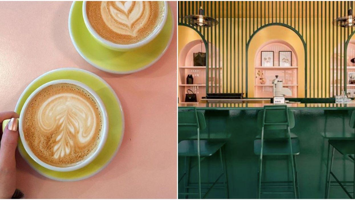 Tu peux apprendre le « latte art » gratuitement à ce café de Montréal cette semaine