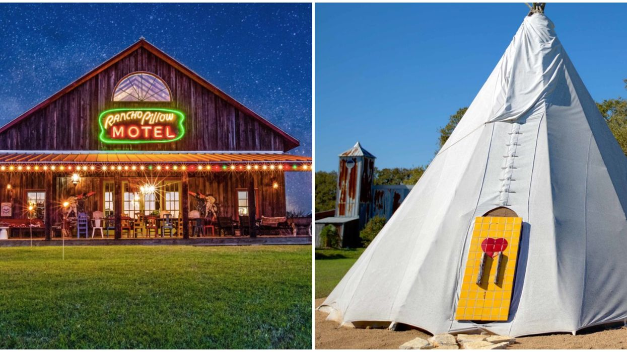 Central Texas Has The Funkiest Retro Hotel With Tepees You Can Sleep In