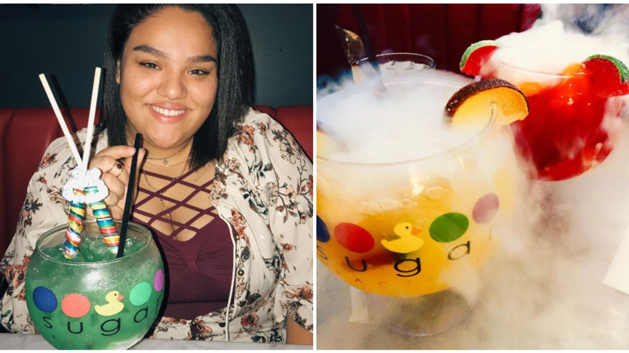 You Can Get Giant Candy-Filled Cocktails At This Sweet Spot In Orlando