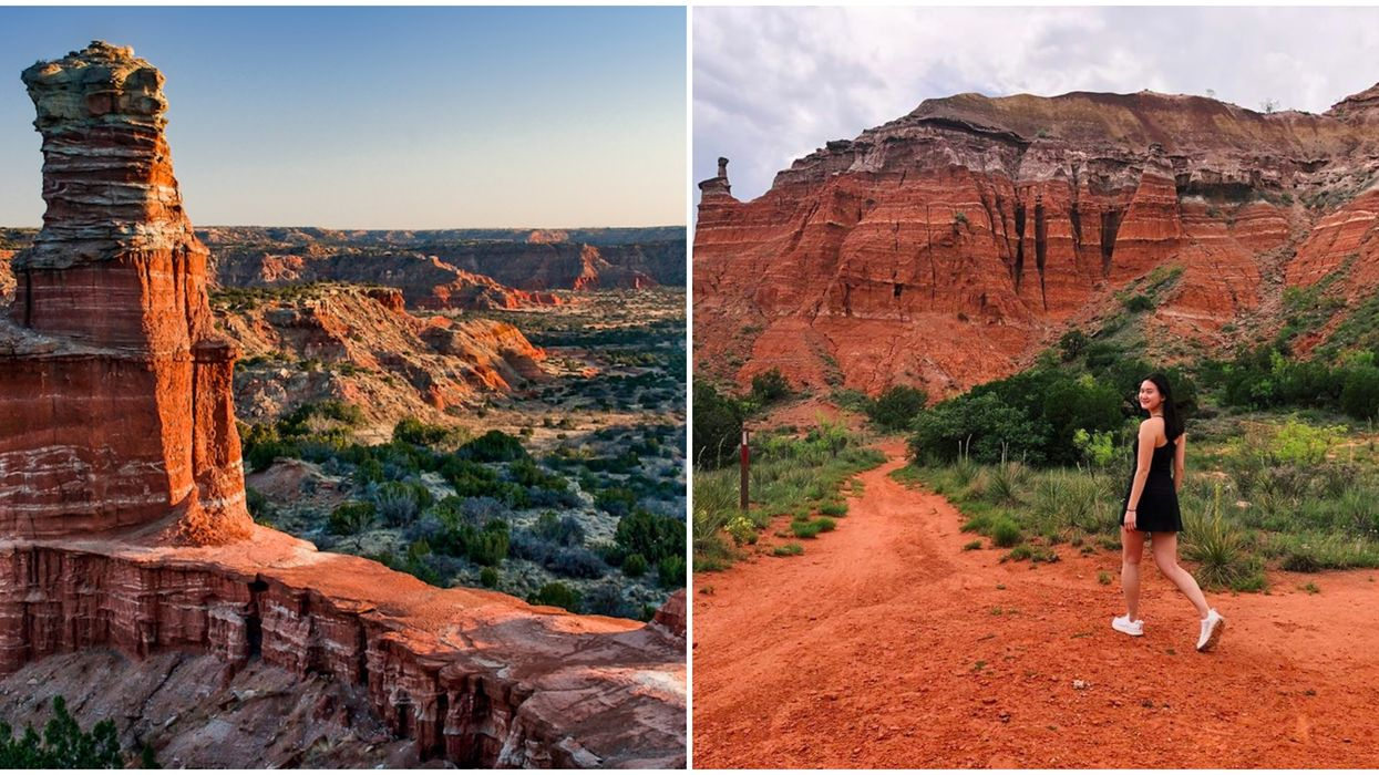 This Stunning Texas Grand Canyon Has The Most Incredible Views Ever