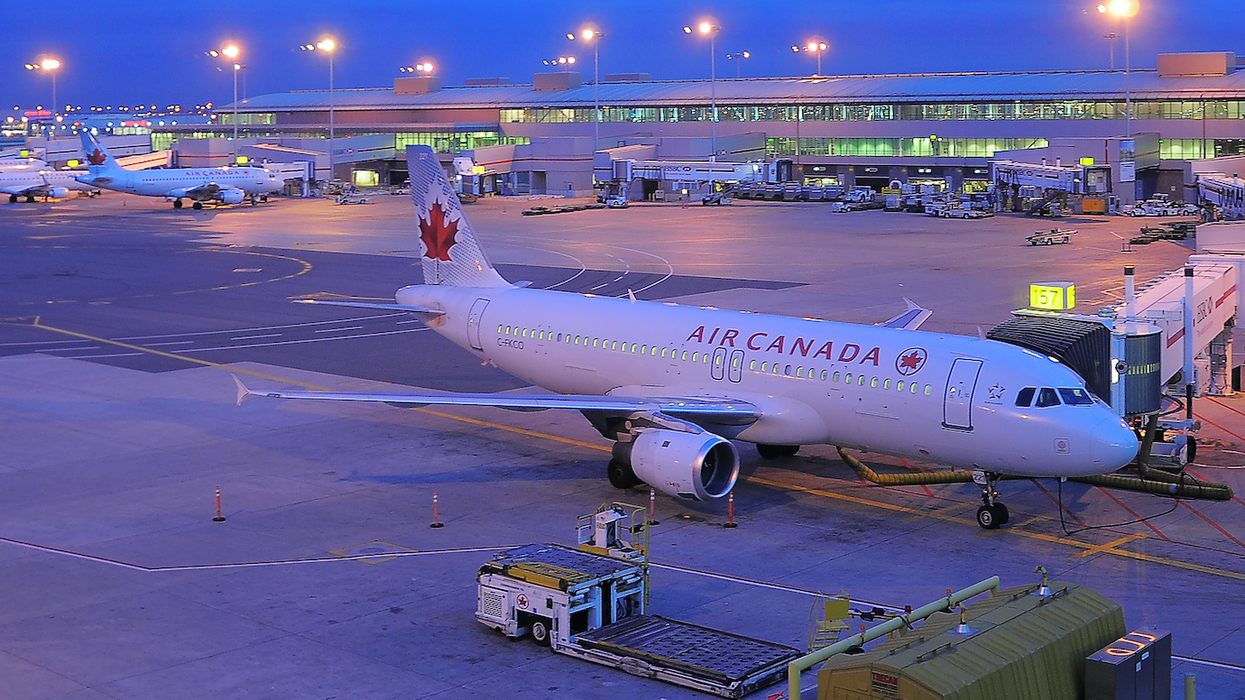 Multiple Air Canada Passengers Injured After An Accident At Pearson Airport This Morning