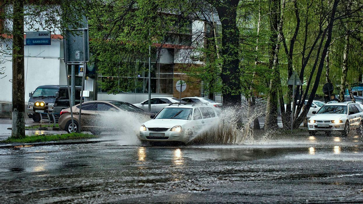 Alerte de pluie importante sur tout le sud du Québec et jusqu'à 40 mm sont attendus aujourd'hui