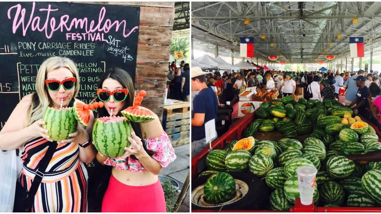 Dallas Is Having The Cutest FREE Watermelon Festival This Summer