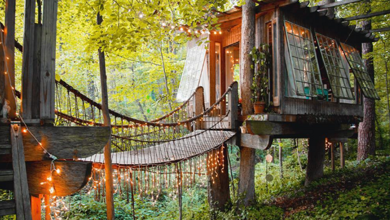 You Can Relive Part Of Your Childhood At This Magical Treehouse Airbnb In Atlanta