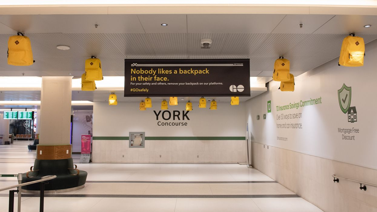 GO Transit Informs Riders Of Potential Safety Risks In Its Newest Ad Campaign