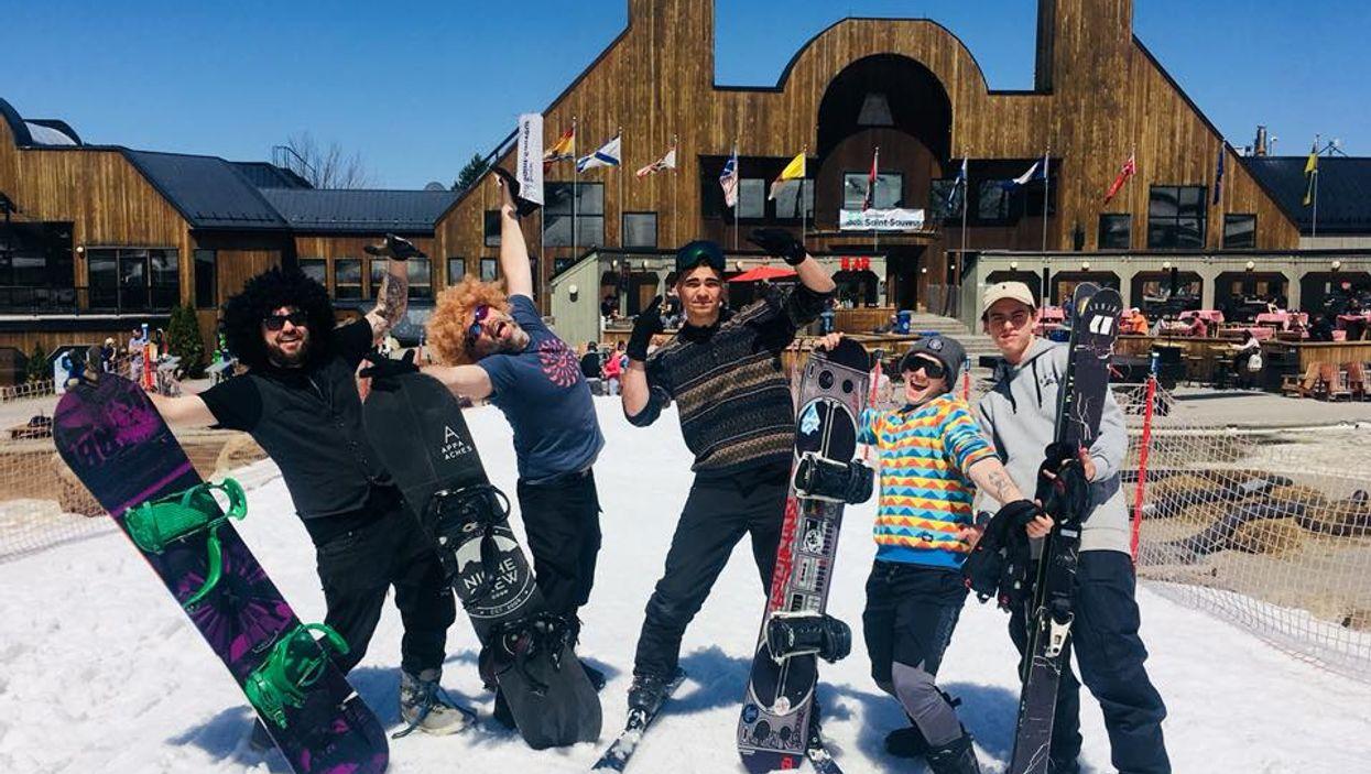 Sommet Saint-Sauveur organise un gros party où tu pourras skier à nouveau ce mois-ci