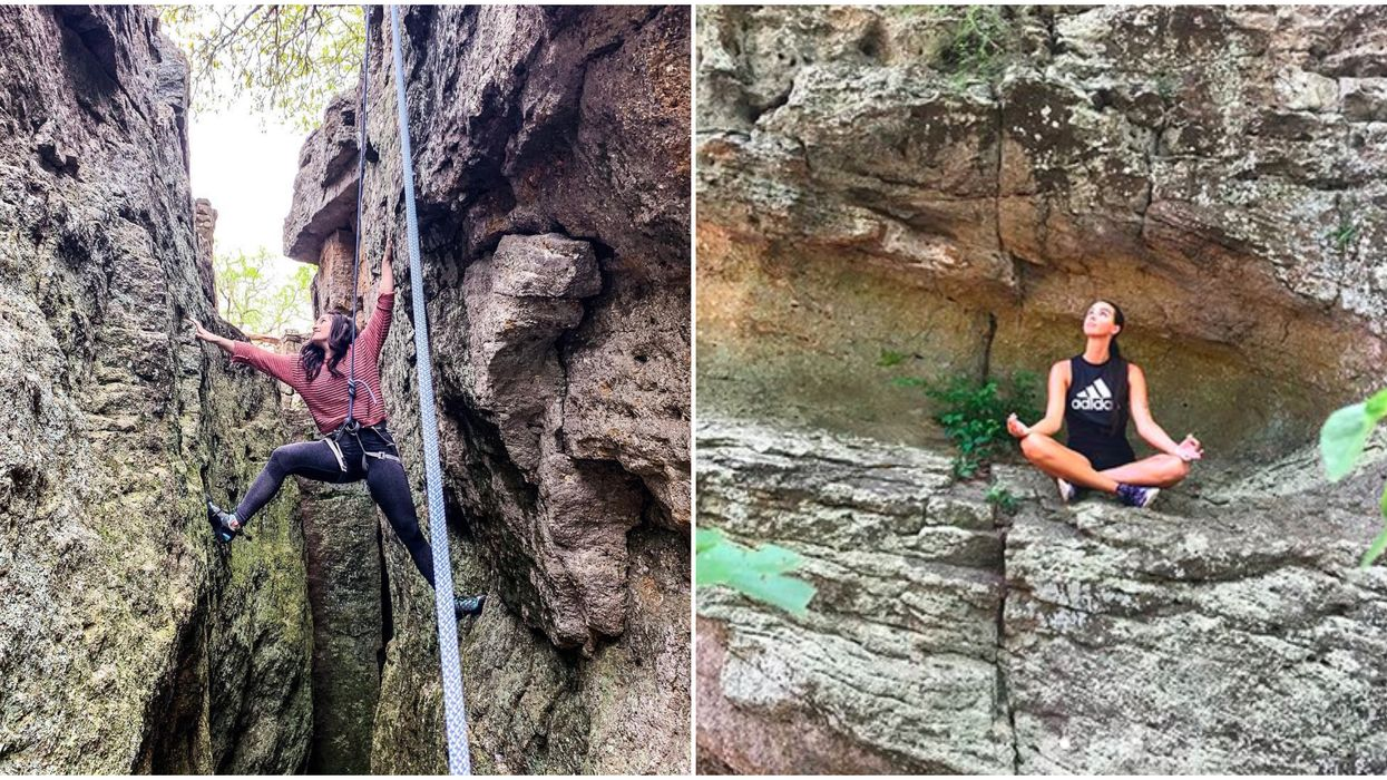 This Hidden Texas Park Is The Most Beautiful Place For Rock Climbing And Adventuring