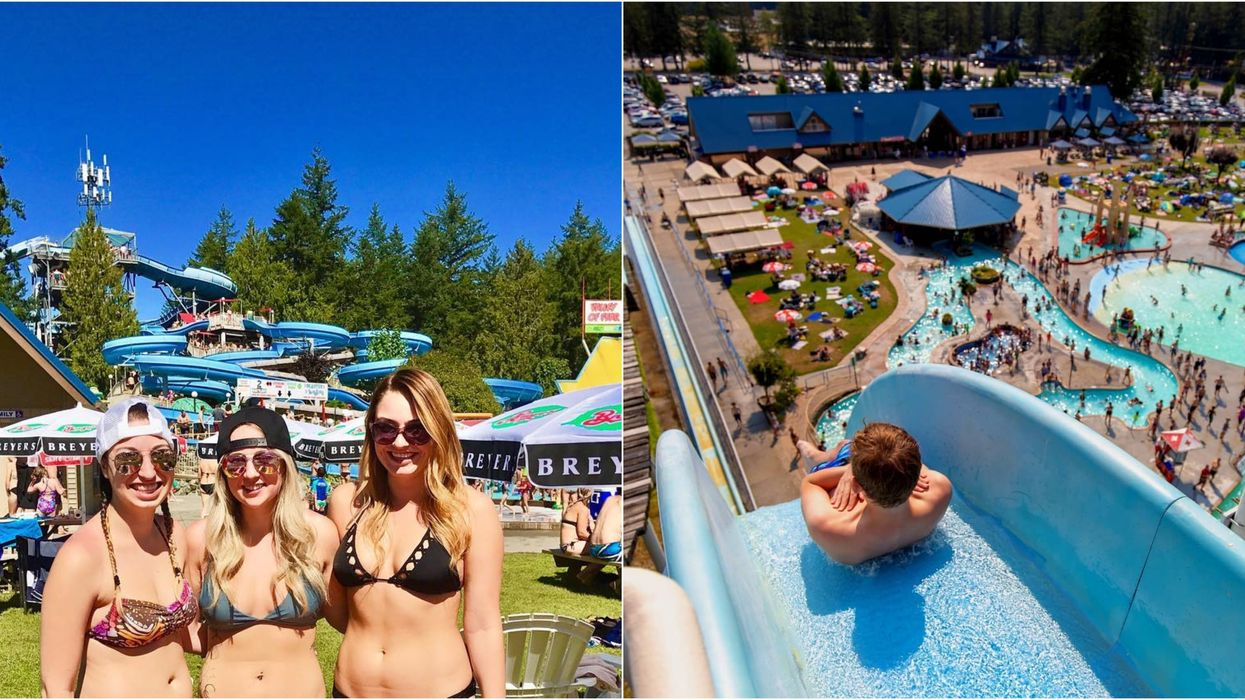 British Columbia's Largest Waterpark Is Hosting After Hours Parties All Summer Long