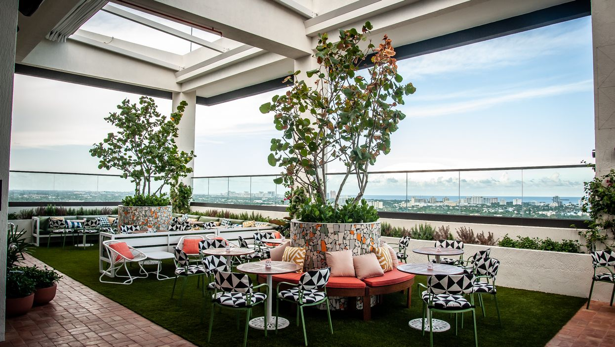 Fort Lauderdale's Newest Chic Rooftop Bar Has The Best Views Of The City