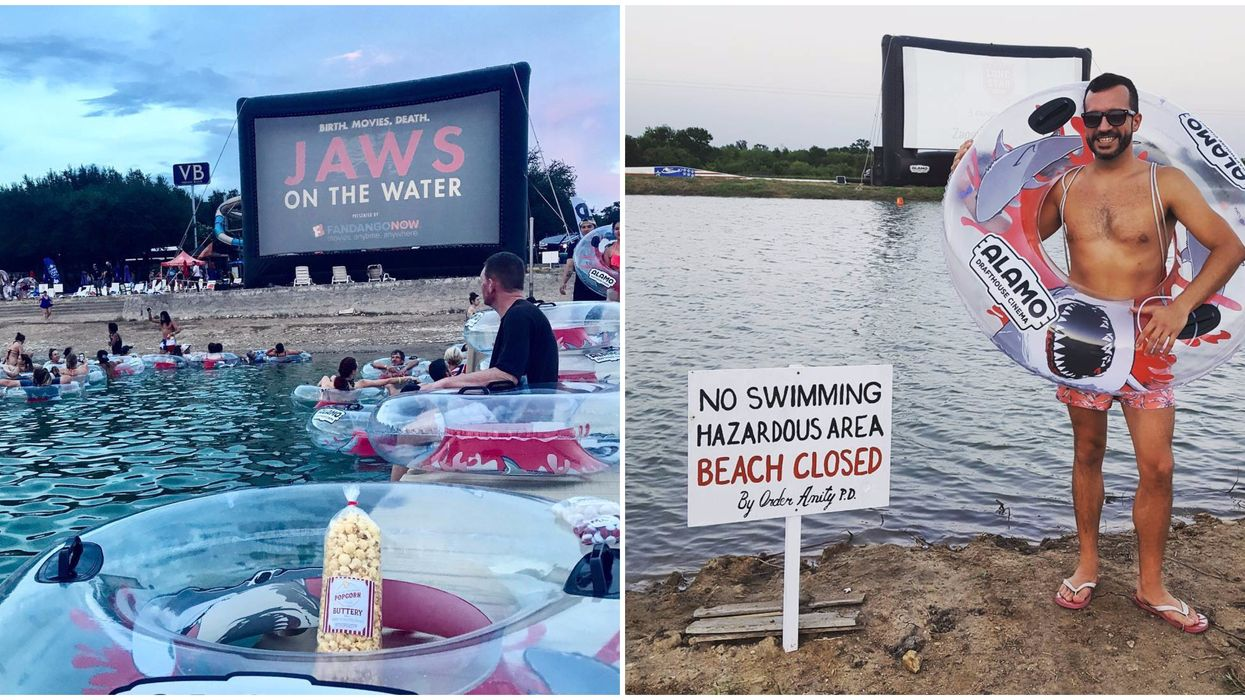 You Can Watch Jaws In The Water At This Florida Beach This Summer