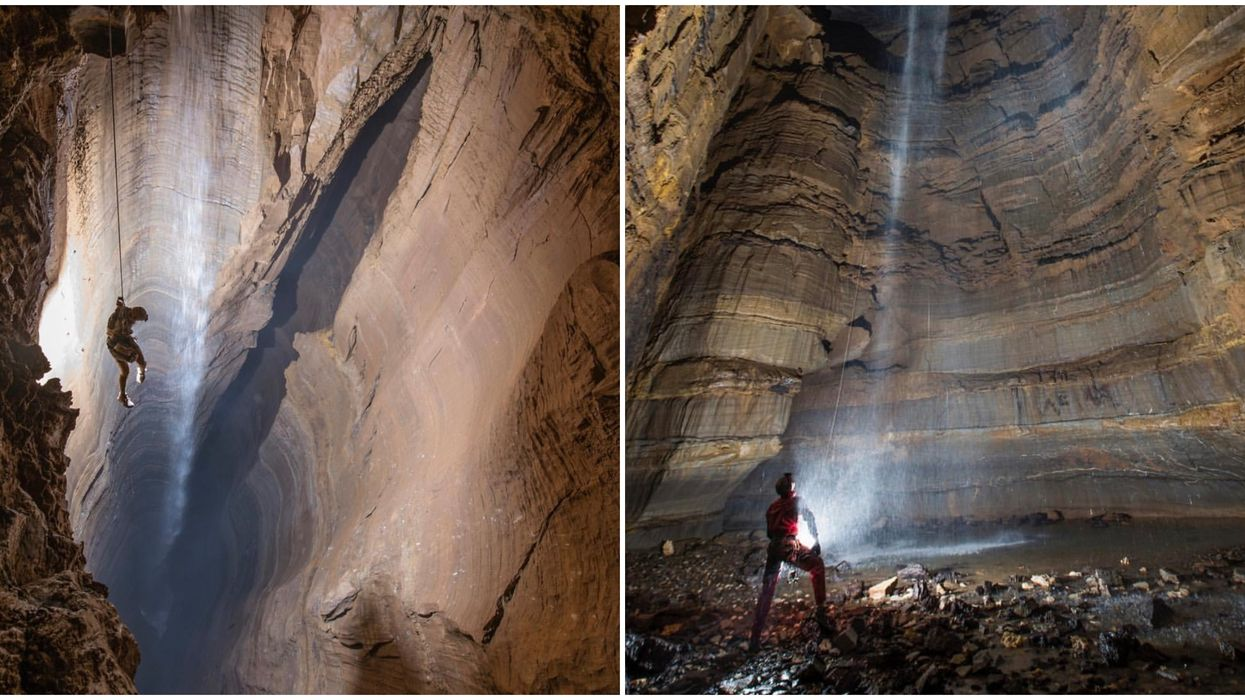 You Can Climb One Of The Deepest Caves In The United States In This Georgia City