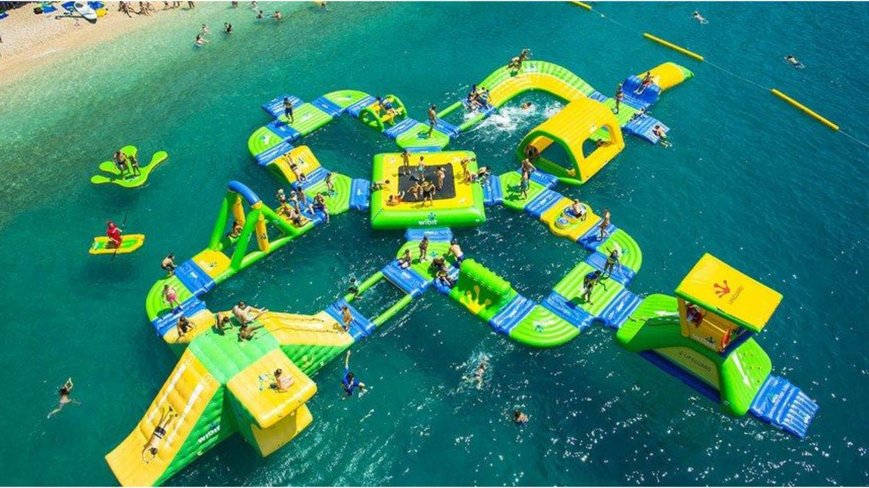 This Insane Inflatable Water Park Near Calgary Is Opening Soon
