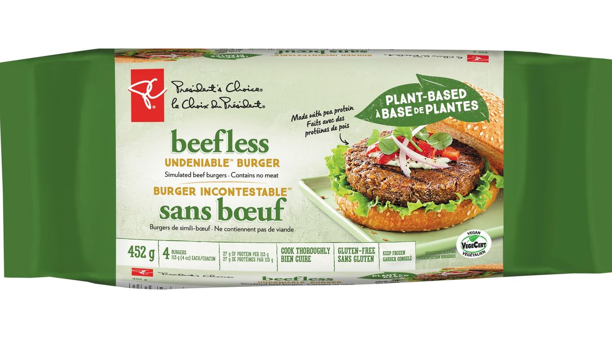 President's Choice Launches New Plant-Based Products Line Across Canada