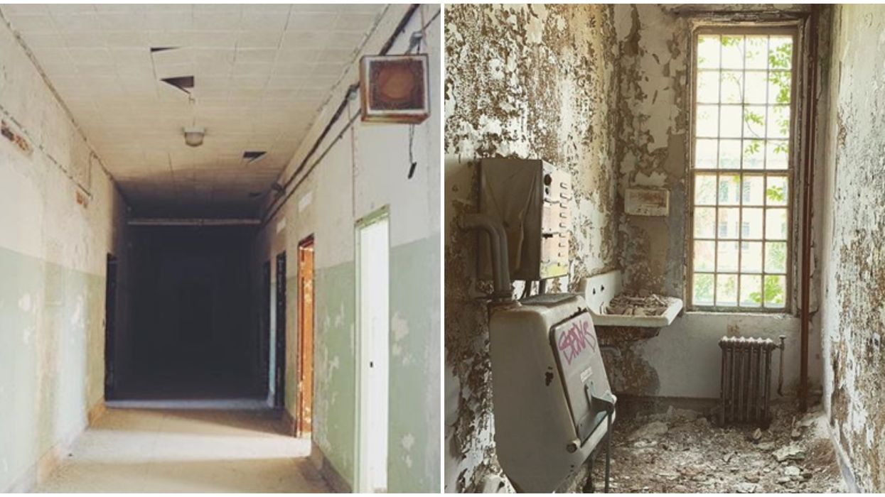 You Can Explore This Abandoned Mental Institution For A Creepy Adventure  In Georgia