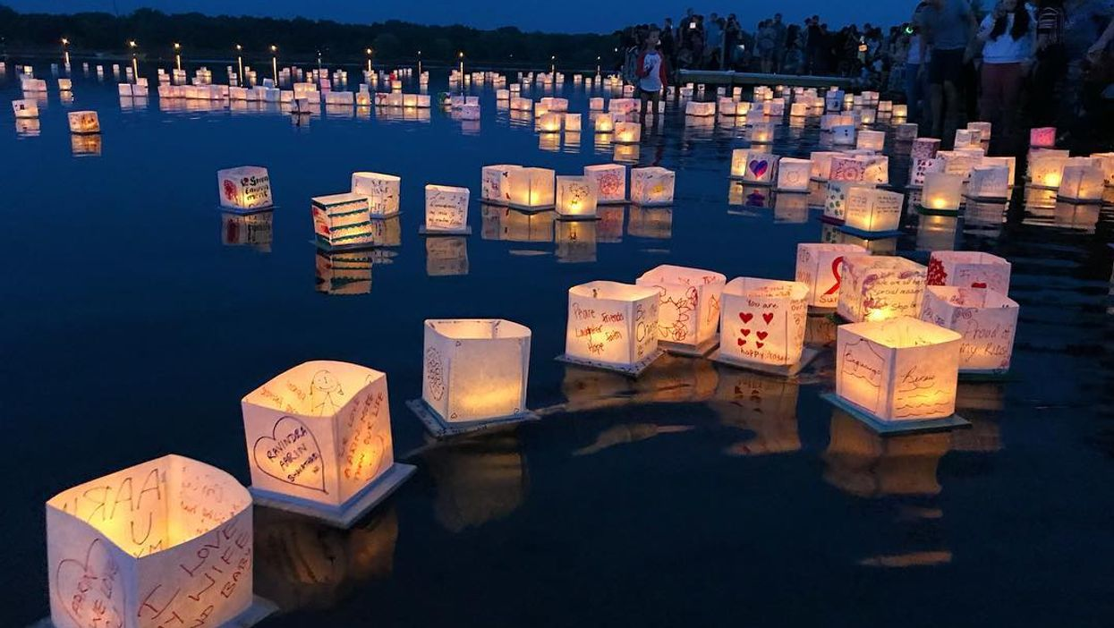 This Enchanting Water Lantern Festival Is Coming To Georgia This Summer