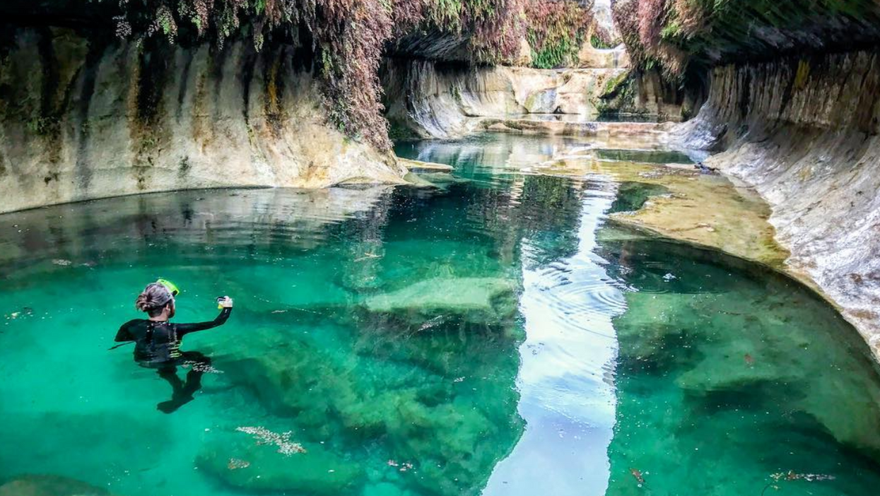 You Can Float This Stunning Texas River To Find A Secret Crystal Clear Water Hole