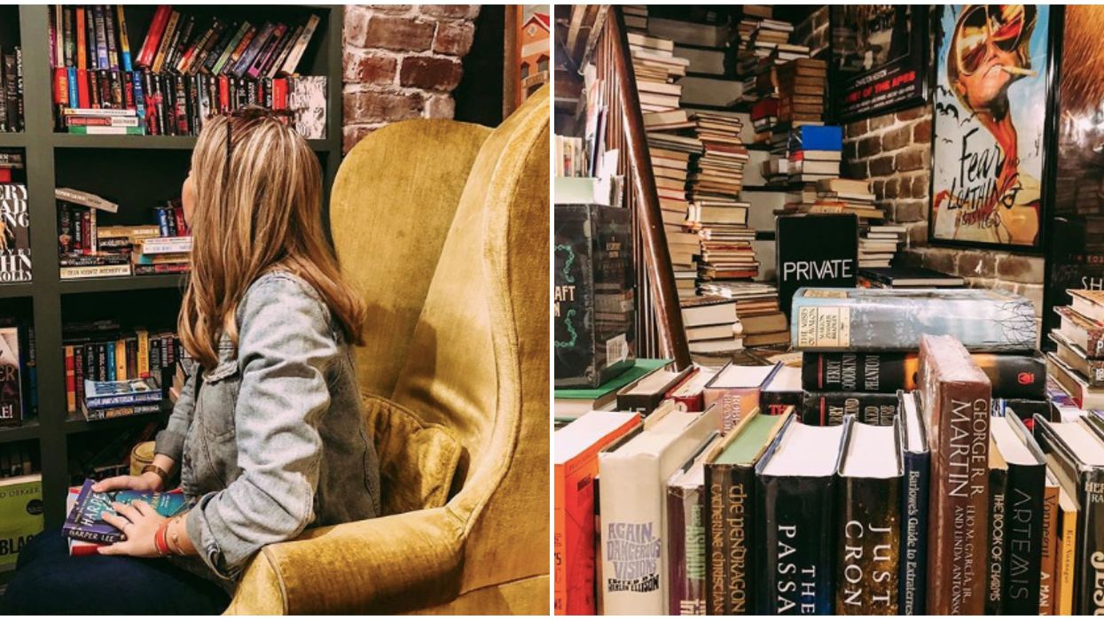 Savannah Has A Hidden Bookstore Full Of Rare Books That Will Take You Back In Time