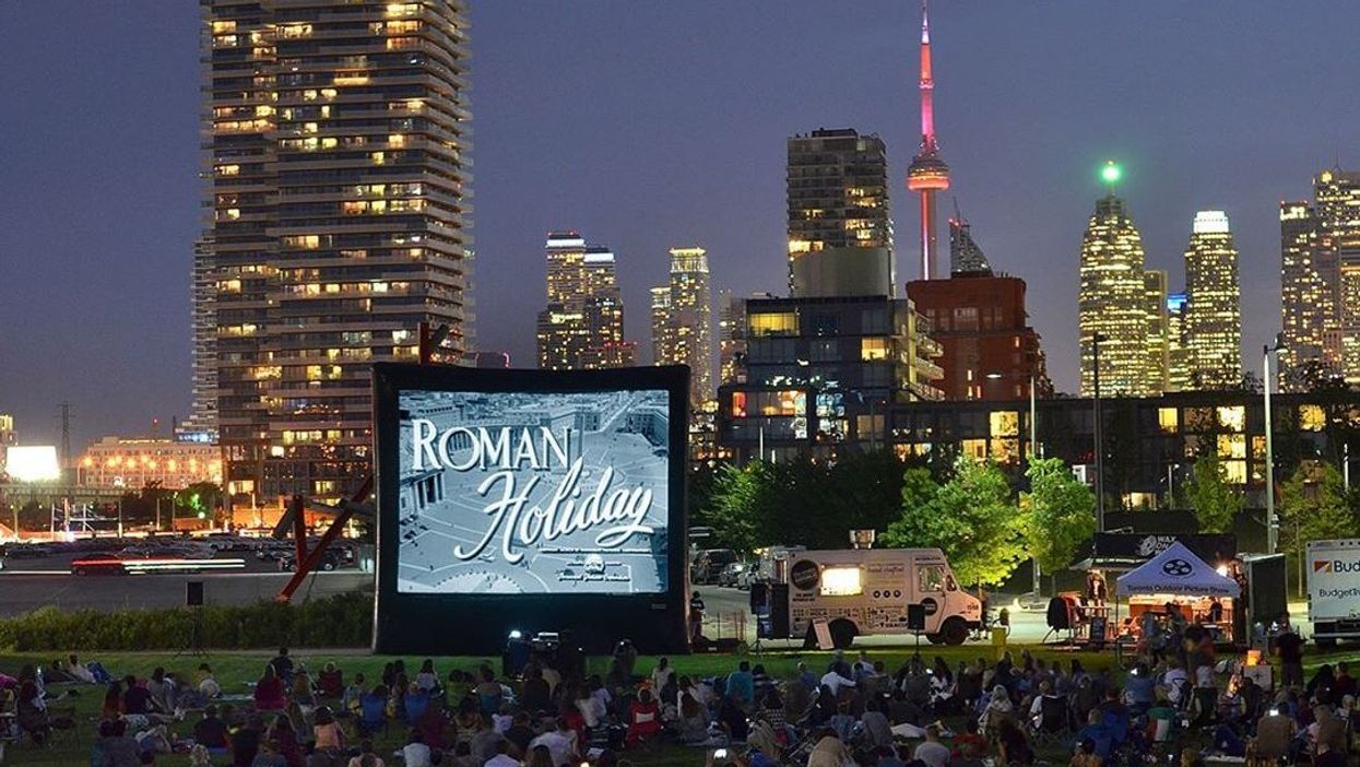 You Can Watch Free Movies Under The Stars In Toronto This Summer