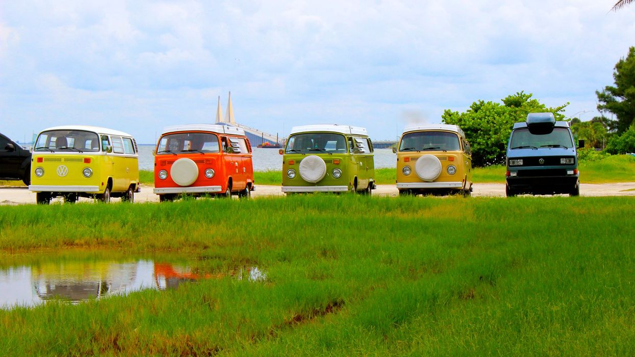 You Can Actually Rent A Vintage Volkswagen Van For The Ultimate Retro Camping Experience In Florida