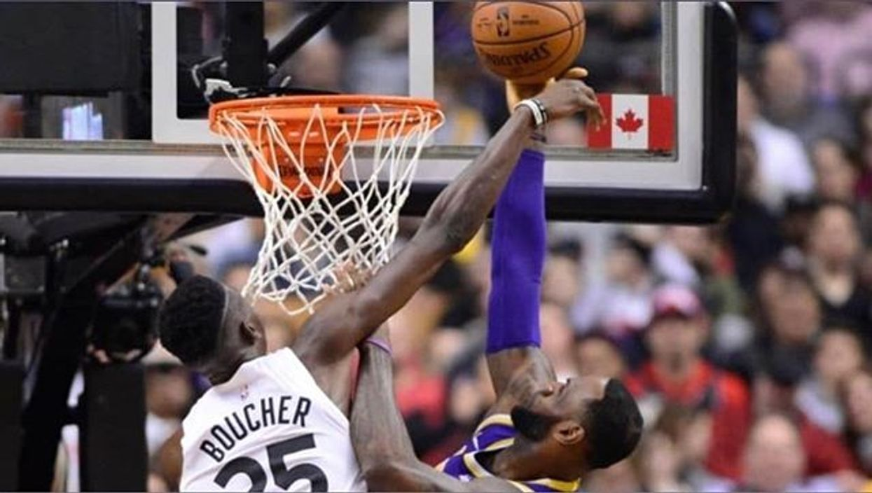 There's Only One Canadian Player In The NBA Finals And He Isn't Even In The Game