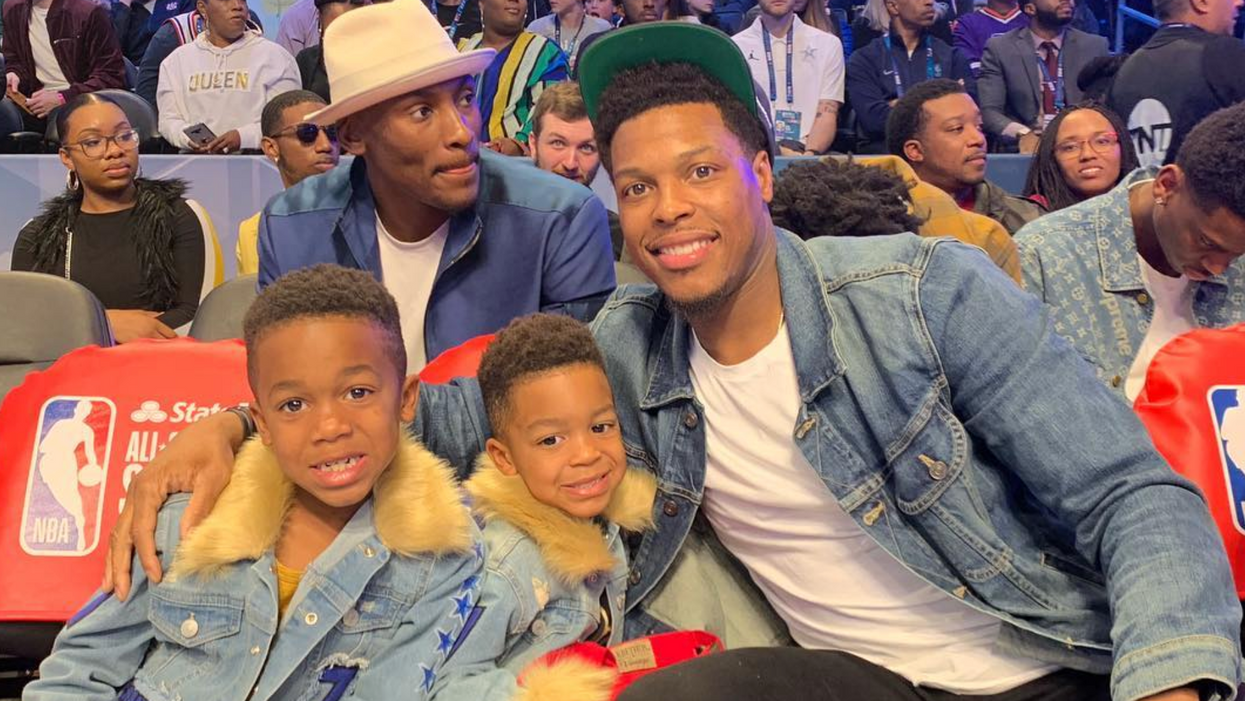 Kyle Lowry & His Fam Love Toronto So Much They're Making Serious Plans To Stay