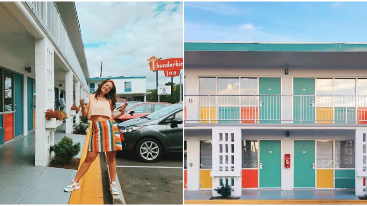 You Can Stay At This Retro, Vintage Hotel For $87 A Night In Georgia
