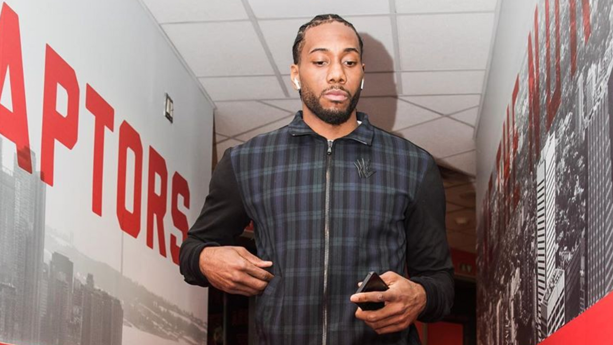 """Kawhi Leonard Is Taking Nike To Court For Stealing His """"Klaw"""" Logo & It's Getting Nasty"""