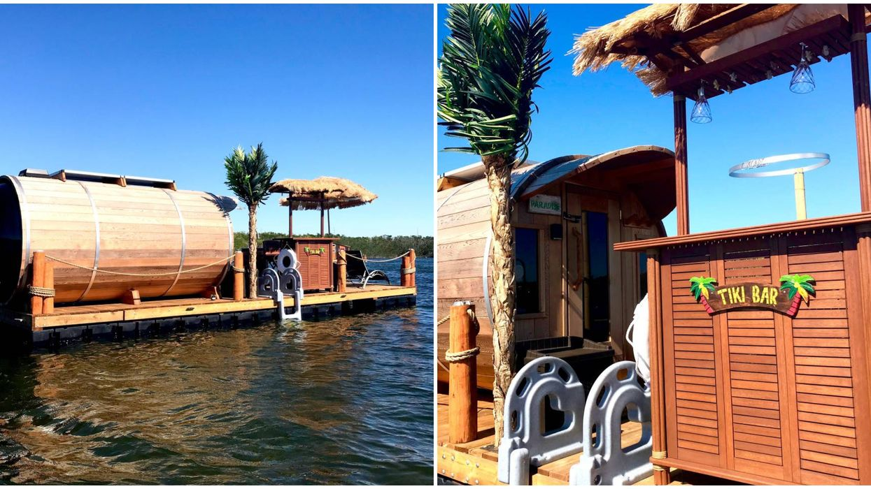 You Can Camp On The Water In This Unique Floating Boathouse In Florida